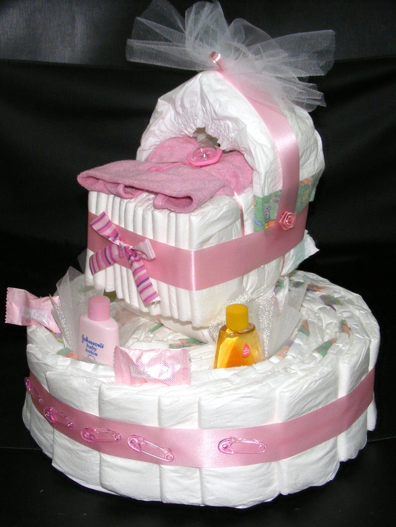 Diaper Cake Centerpiece For Baby Shower : Members Area